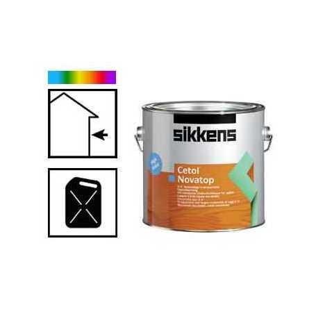 Lasure cetol novatop couleur for Lasure couleur exterieure