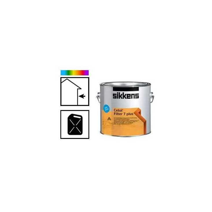 Lasure cetol filter 7 plus for Lasure couleur exterieure