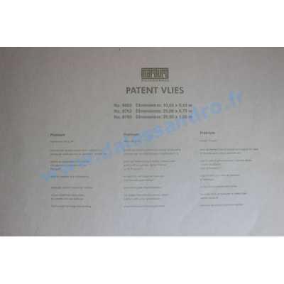Patent lisse / voile de rénovation réf. 9769